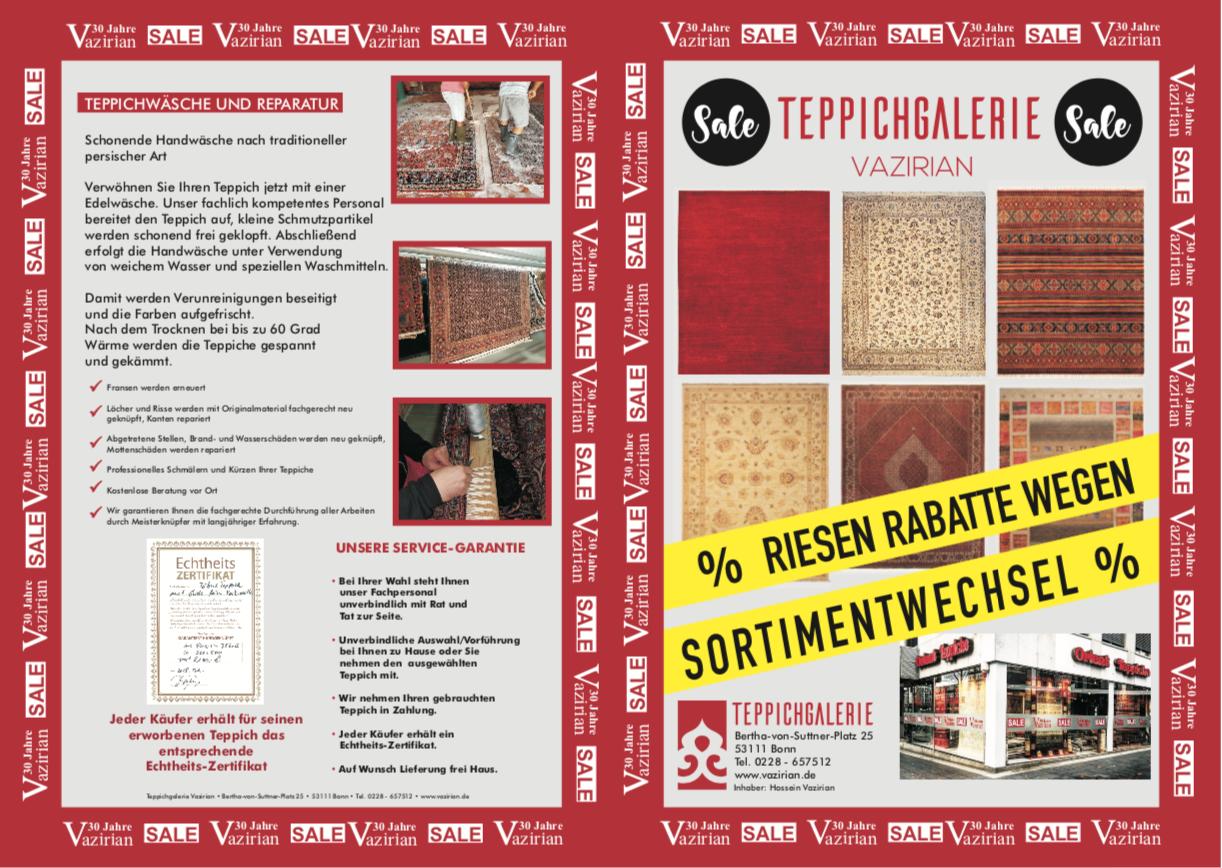 Teppich Galerie Vazirian Bonn